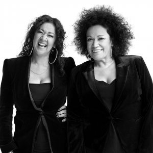 Vika and Linda Bull